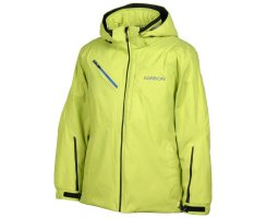Karbon Graphite Alpha Lithium Jacke Lime