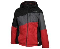 Karbon Helix Marble Jacke Red