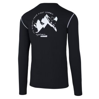 hyphen Partois Men Langarmshirt black