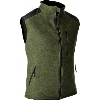 Pfanner Wooltec Gilet Gr. L Farbe Oliv