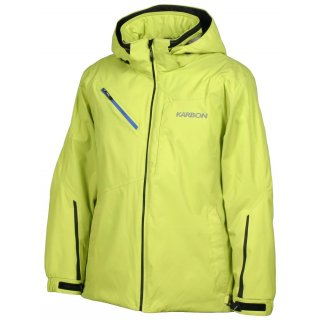 Karbon Graphite Alpha Lithium Jacke Lime L