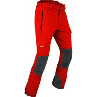 Outdoorhose Globe Gr. M Farbe Rot