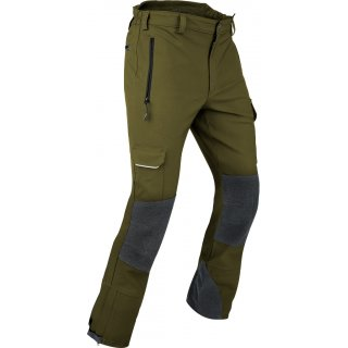 Outdoorhose Globe Gr. L long Farbe Oliv